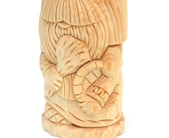 """Статуэтка из кедра большая """"Домовой банщик"""", фото , изображение 6"""
