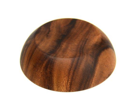 Тарелка деревянная глубокая из акации D16 H4,5, фото , изображение 4