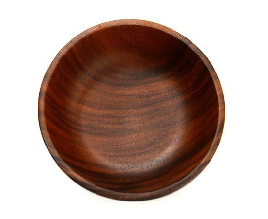 Тарелка деревянная глубокая из акации D20 H7, фото , изображение 4