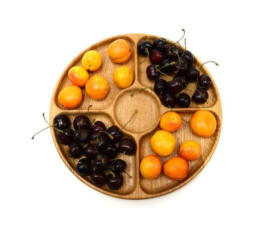 Менажница деревянная круглая D29, фото , изображение 3