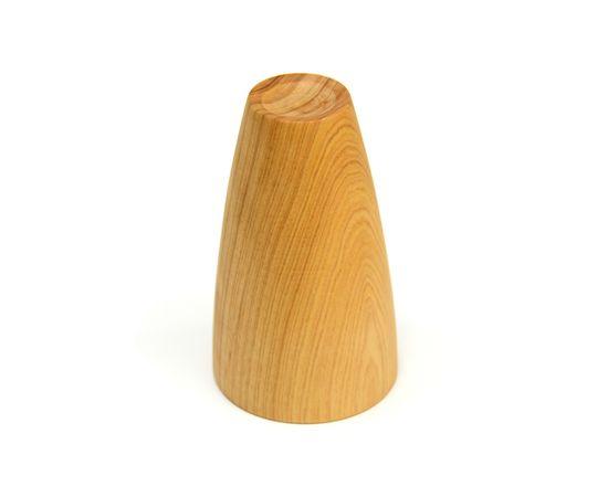 Стакан деревянный высокий светлый D8 H13, фото , изображение 2
