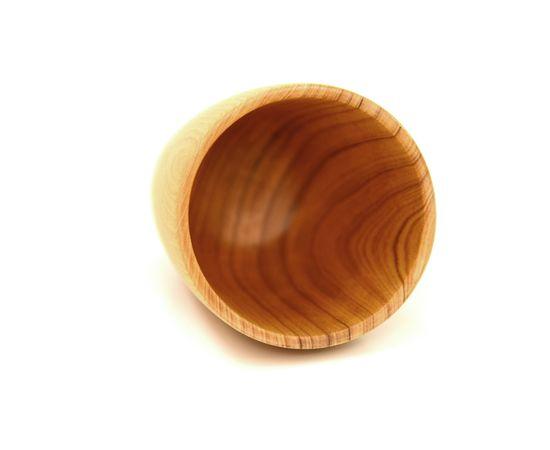 Стакан деревянный высокий светлый D8 H13, фото , изображение 3