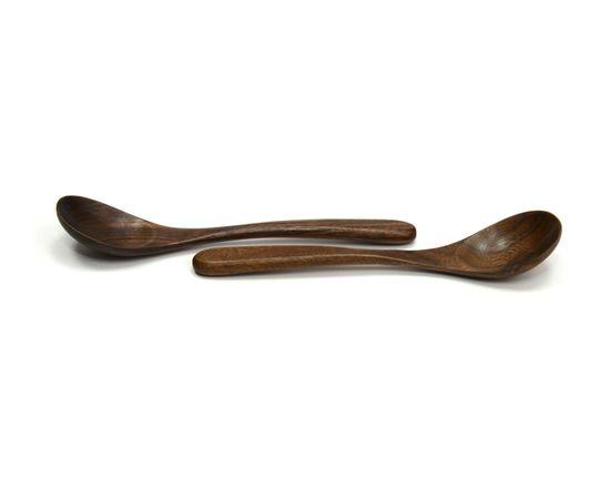 Ложка большая деревянная L19,5, фото , изображение 2