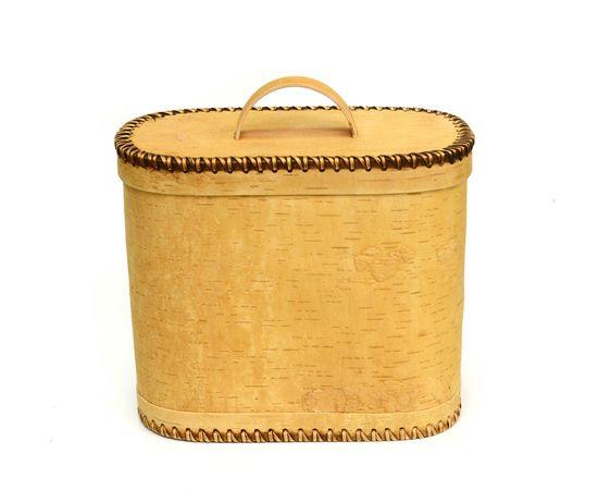 Хлебница плетеная высокая. Короб из бересты, фото , изображение 6