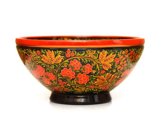 "Чашка хохлома ""Малина"" D23.5 H11,5, фото , изображение 2"
