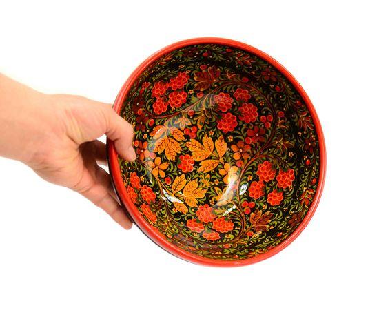 "Чашка хохлома ""Малина"" D23.5 H11,5, фото , изображение 3"