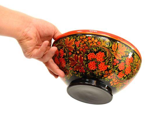"Чашка хохлома ""Малина"" D23.5 H11,5, фото , изображение 5"