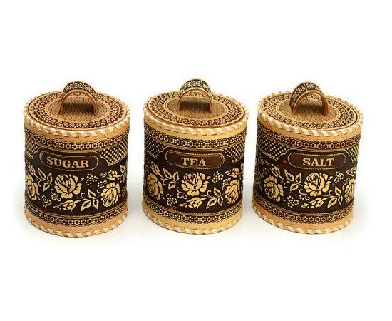 Набор туесов Розы Salt Tea Sugar №1, фото , изображение 3