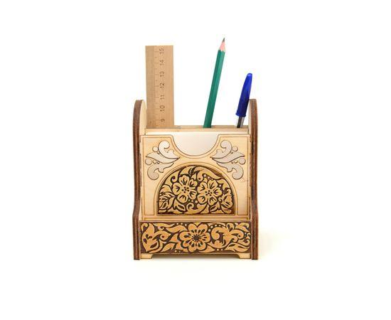 Органайзер деревянный «Цветы», фото , изображение 4