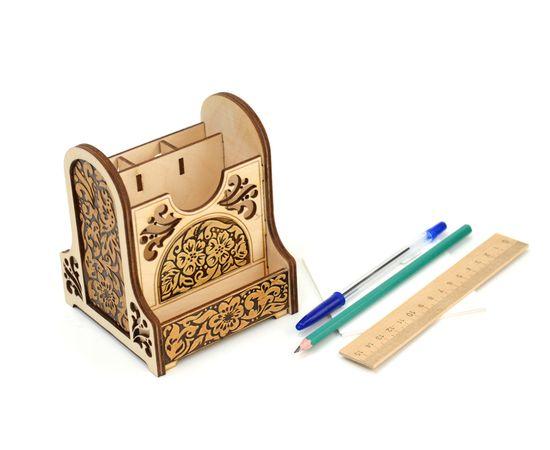Органайзер деревянный «Цветы», фото , изображение 2