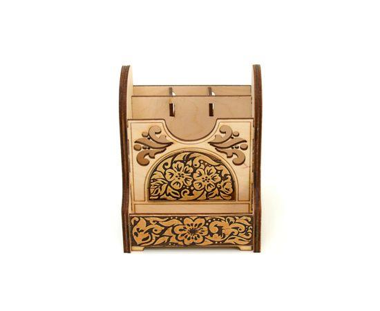 Органайзер деревянный «Цветы», фото , изображение 7