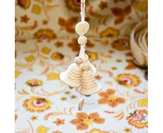 Колокольчики из бересты сувенирные, фото