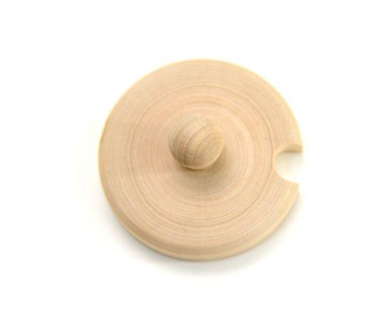 """Бочонок для меда """"Пасечник"""" 0,5 кг с вырезом под ложку, фото , изображение 4"""