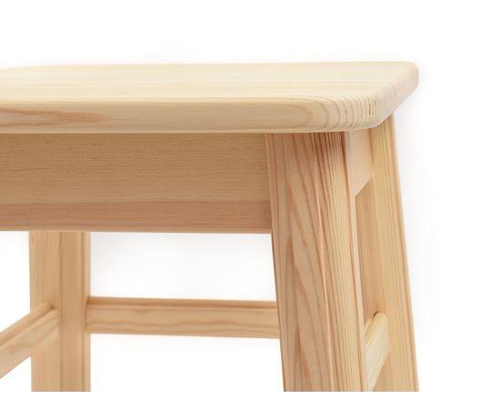 Табуретка деревянная низкая h30, фото , изображение 7