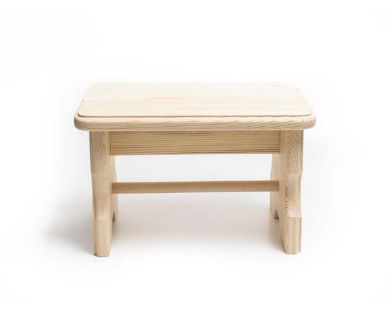Скамейка из дерева H20. Скамеечка маленькая, фото
