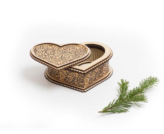 """Шкатулка деревянная """"Сердце"""", фото , изображение 4"""