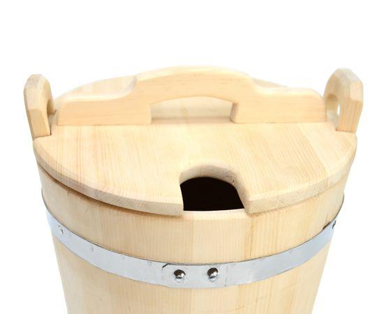 Запарник для веника, для бани 15 л, фото , изображение 5