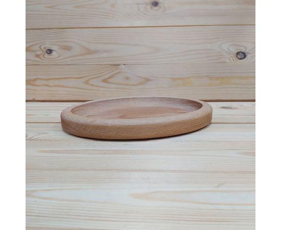 Тарелка из бука овальная, фото , изображение 4