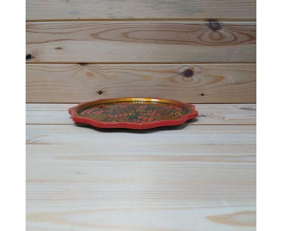 """Тарелка маленькая хохлома """"Красная смородина"""" D20. Поднос, фото , изображение 2"""
