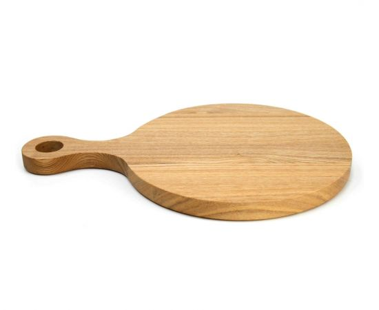 """Тарелка - подставка с ручкой деревянная """"Сковородница"""", фото , изображение 3"""