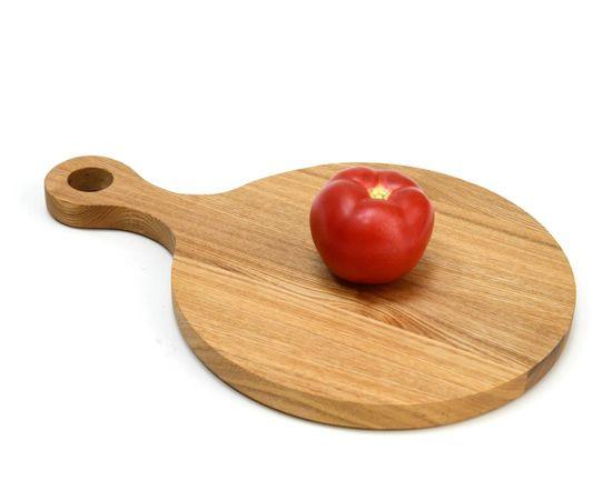 """Тарелка - подставка с ручкой деревянная """"Сковородница"""", фото , изображение 4"""