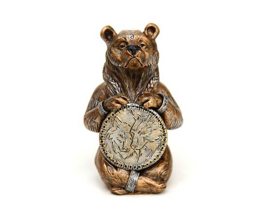 "Статуэтка из камня ""Медведь шаман"", фото"