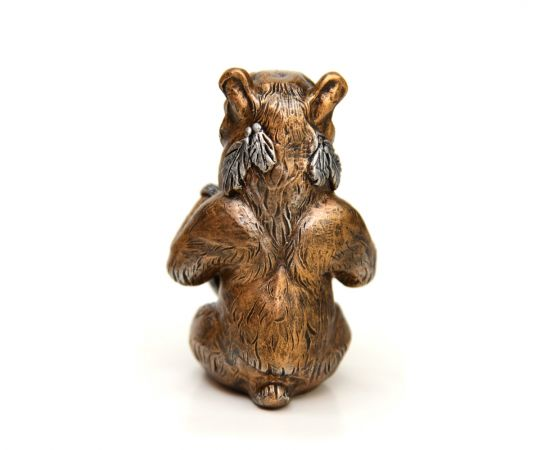 """Статуэтка из камня """"Медведь шаман"""", фото , изображение 5"""