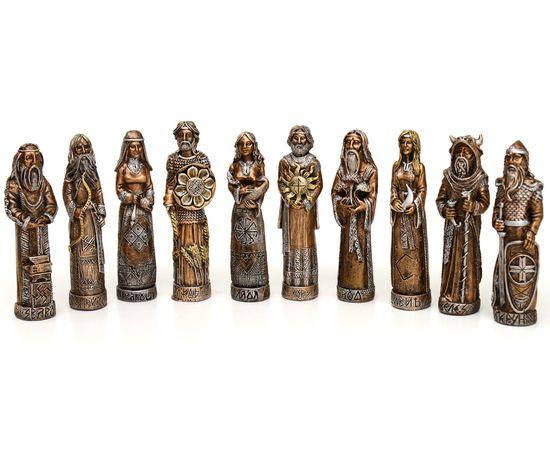 Кумиры славянских Богов из камня. Пантеон Богов. Набор из 10 штук, фото , изображение 2