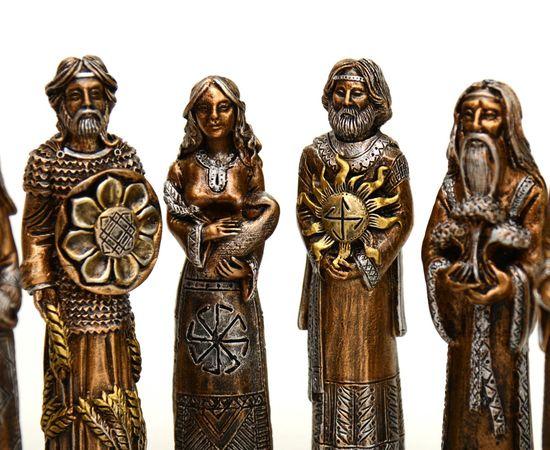 Кумиры славянских Богов из камня. Пантеон Богов. Набор из 10 штук, фото , изображение 3