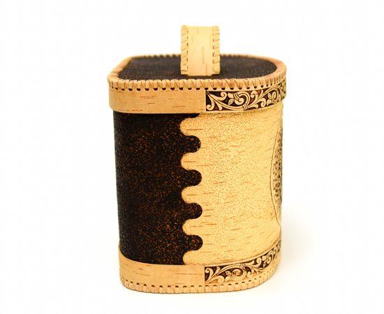 Хлебница - короб из бересты «Соловьи», фото , изображение 5