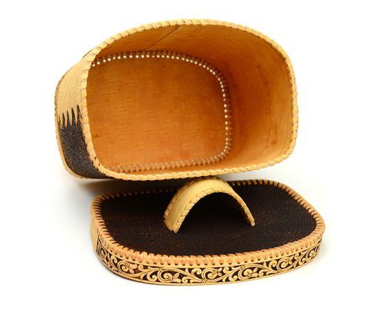 Хлебница - короб из бересты «Соловьи», фото , изображение 4