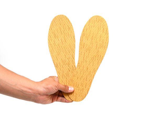Стельки из бересты массажные с пупырышками, фото , изображение 2