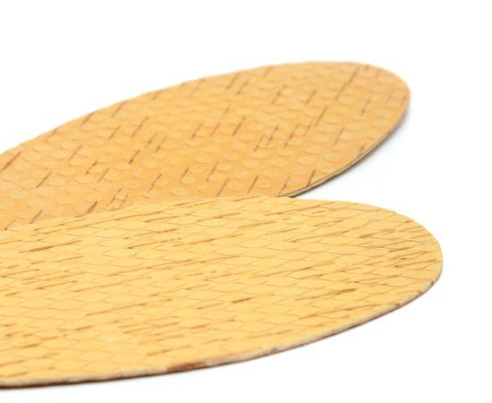 Стельки из бересты массажные с пупырышками, фото , изображение 3