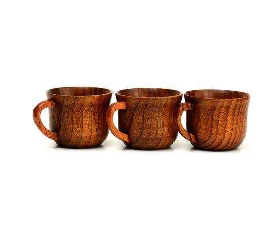 Кружка деревянная для чая/кофе 150 мл, фото , изображение 5