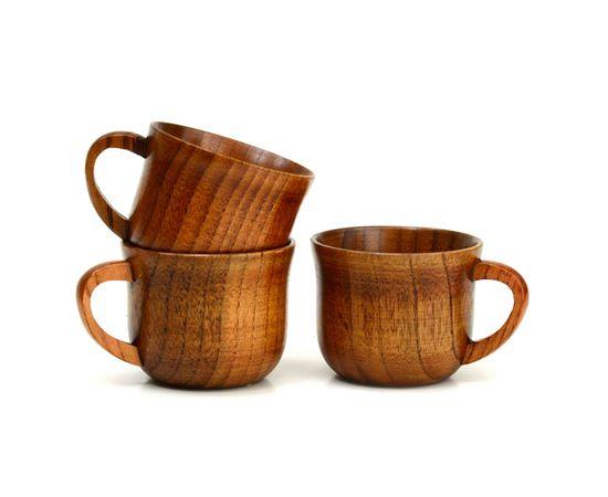 Кружка деревянная для чая/кофе 150 мл, фото , изображение 6