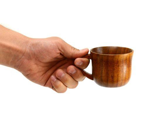 Кружка деревянная для чая/кофе 150 мл, фото , изображение 3