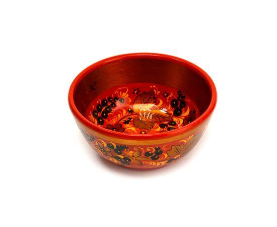 Чашка хохлома Черная смородина D12 H6, фото , изображение 2