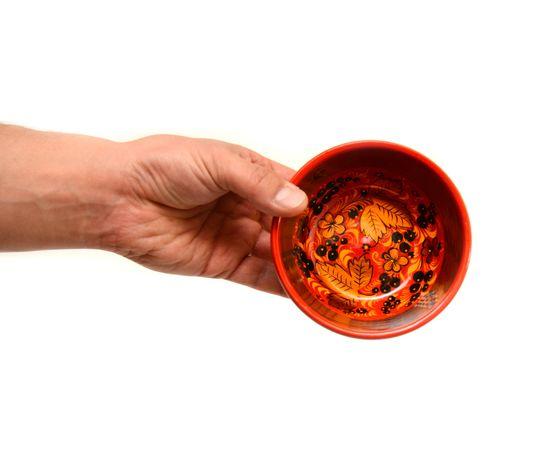 Чашка хохлома Черная смородина D12 H6, фото , изображение 5