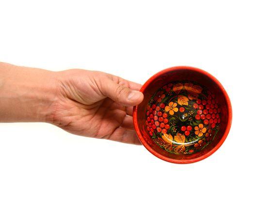 Чашка хохлома Рябина D11,5 H6, фото , изображение 5