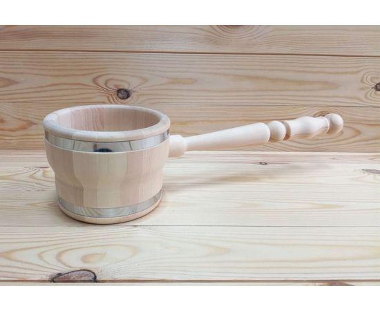 Ковш деревянный для бани 0,5 л, фото