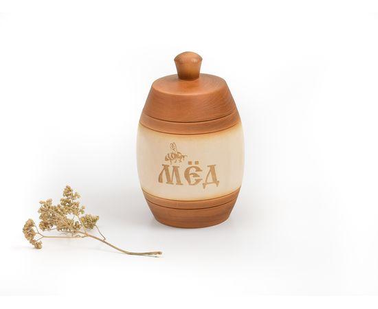 Бочонок для меда «Медовый» 1,0 кг, фото