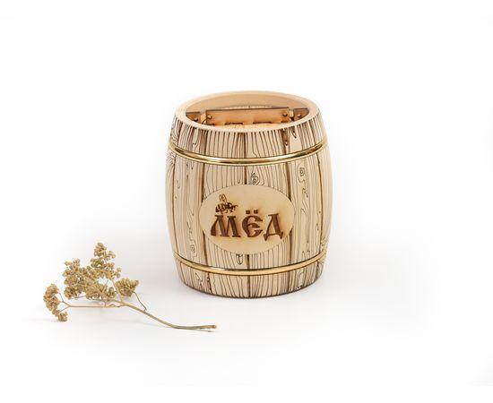 Бочонок для меда «Бондарь» 1,0 кг, фото