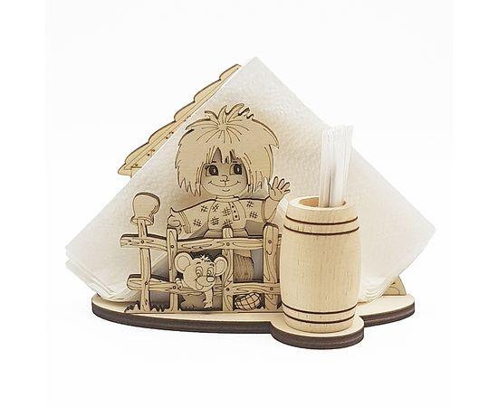 Салфетница деревянная Домовой, фото