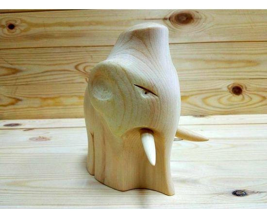 Статуэтка из дерева большая «Мамонт», фото