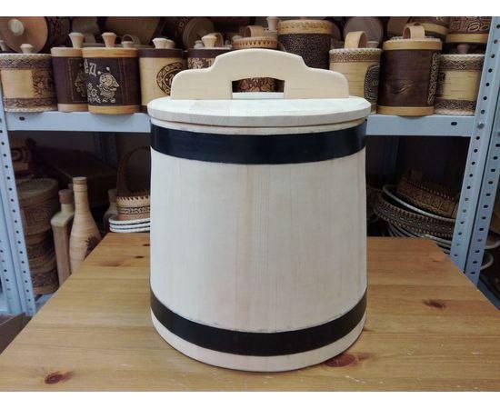 Кадка из кедра для засолки 20 литров, фото