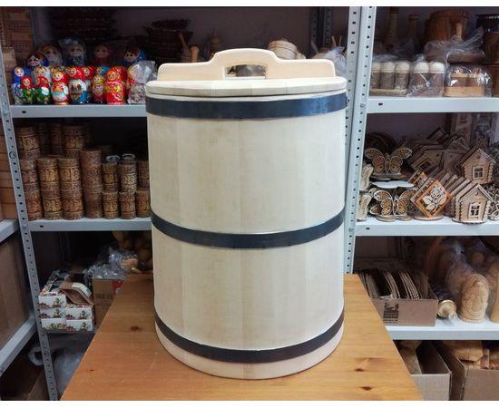 Кадка из кедра 50 литров, фото