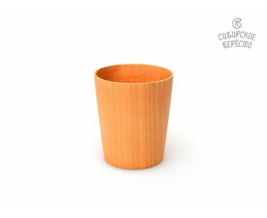 Стакан деревянный D8 H9, фото
