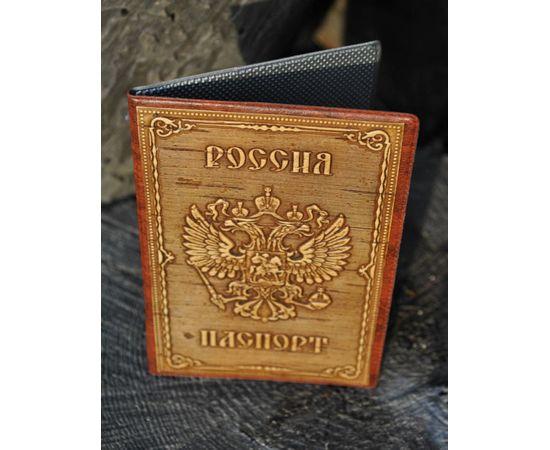 Обложка для паспорта из бересты, фото