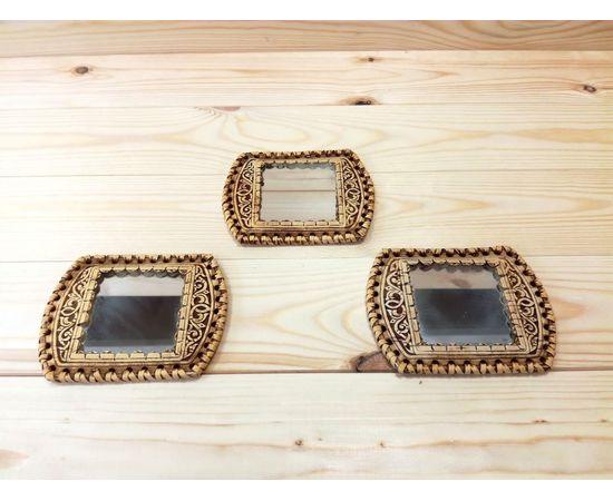 Зеркальце из бересты в ассортименте, фото