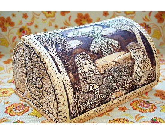 """Хлебница сказка """"У мельницы"""", фото , изображение 2"""